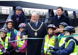 Clyst bridge opening.jpg