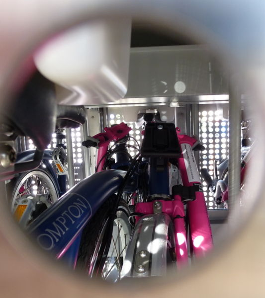 File:Brompton bike in cage.jpg
